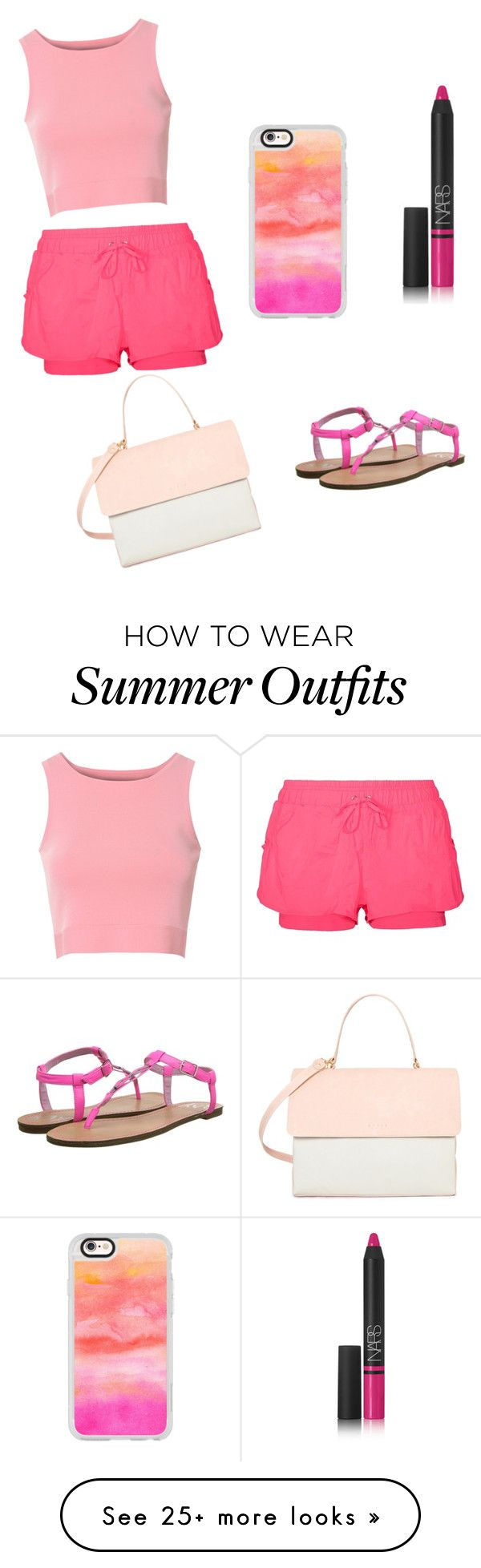 """""""Adorable Summer outfit """" by lsantana13 on Polyvore featuring Casetify..."""