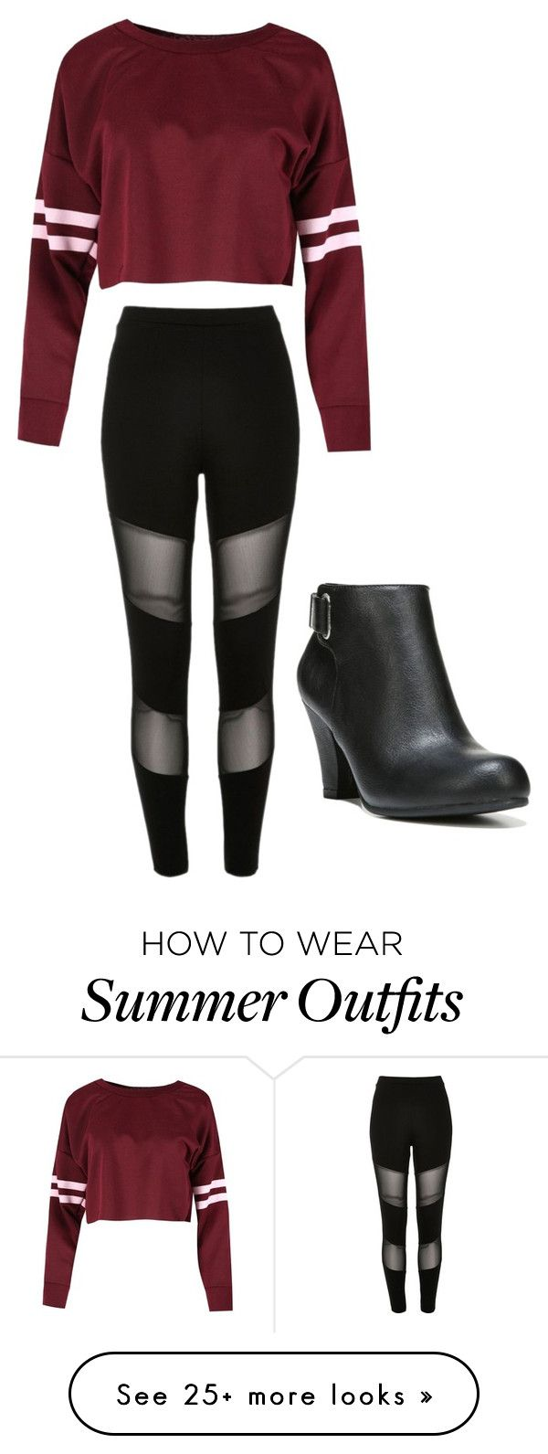 """""""Back to School Outfit(for summer)"""" by prettylittlecloset on Polyvore ..."""