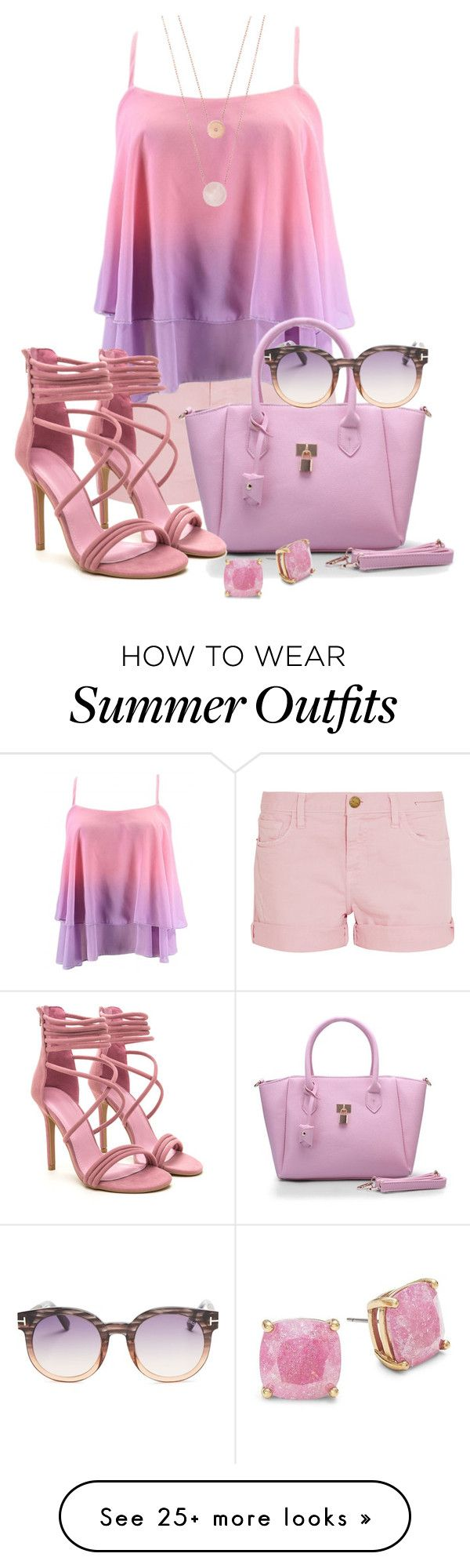 """--------"" by elona-makavelli on Polyvore featuring Current/Elliott, M..."