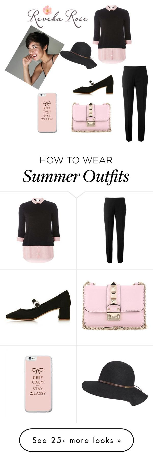 """""""Classy Outfit for School"""" by bekoning-reds on Polyvore featuring Doro..."""