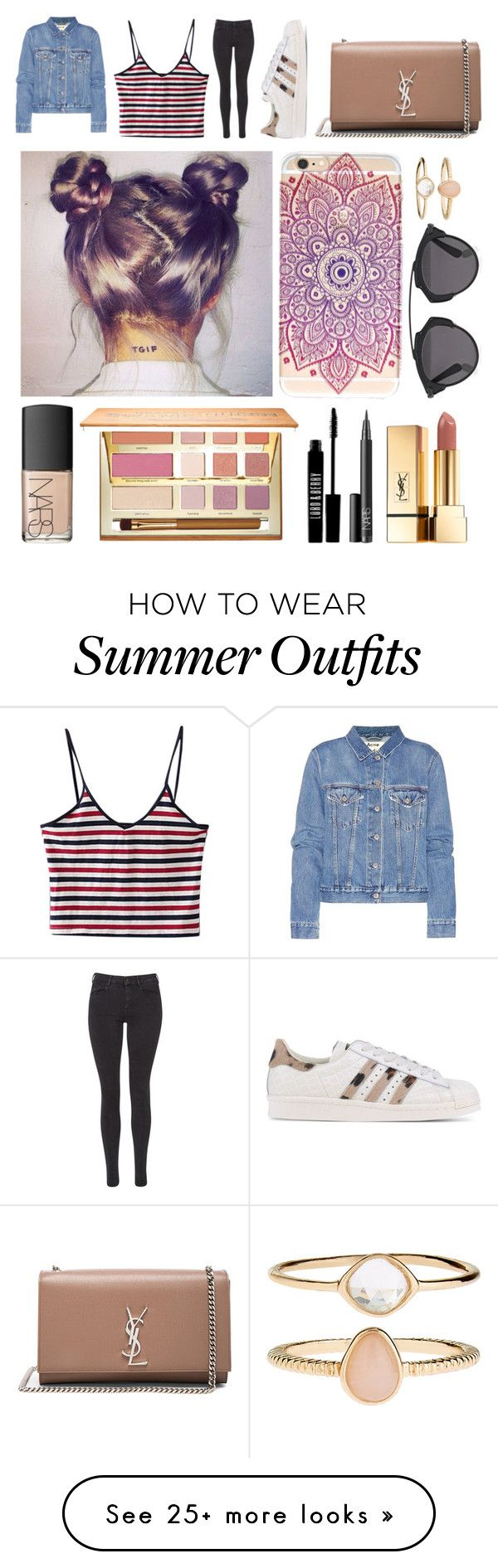 """""""college outfit"""" by neondots on Polyvore featuring Acne Studios, Maiso..."""