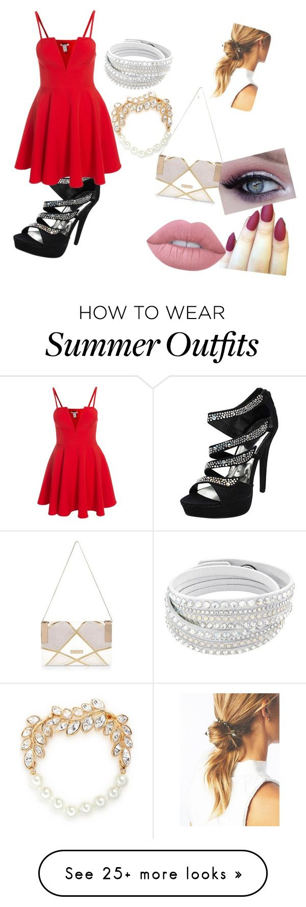 """""""Date or Bar outfit"""" by rachmiller417 on Polyvore featuring Lime Crime..."""