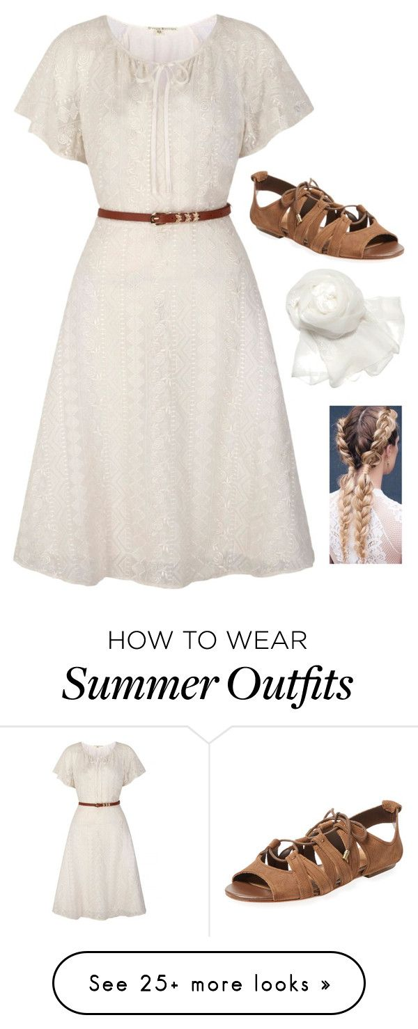 """Daughter of Hebe, Summer Outfit"" by daughteroflightning on Polyvore f..."