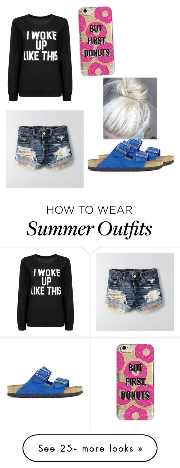 """""""Fun lazy cottage summer outfit"""" by bangel012 on Polyvore featuring Am..."""