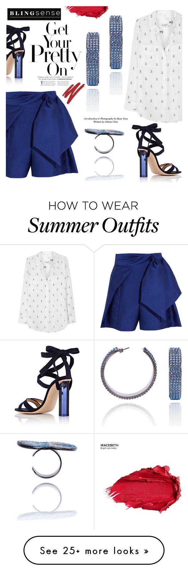 """Get Your Pretty One"" by blingsense on Polyvore featuring Paper London..."