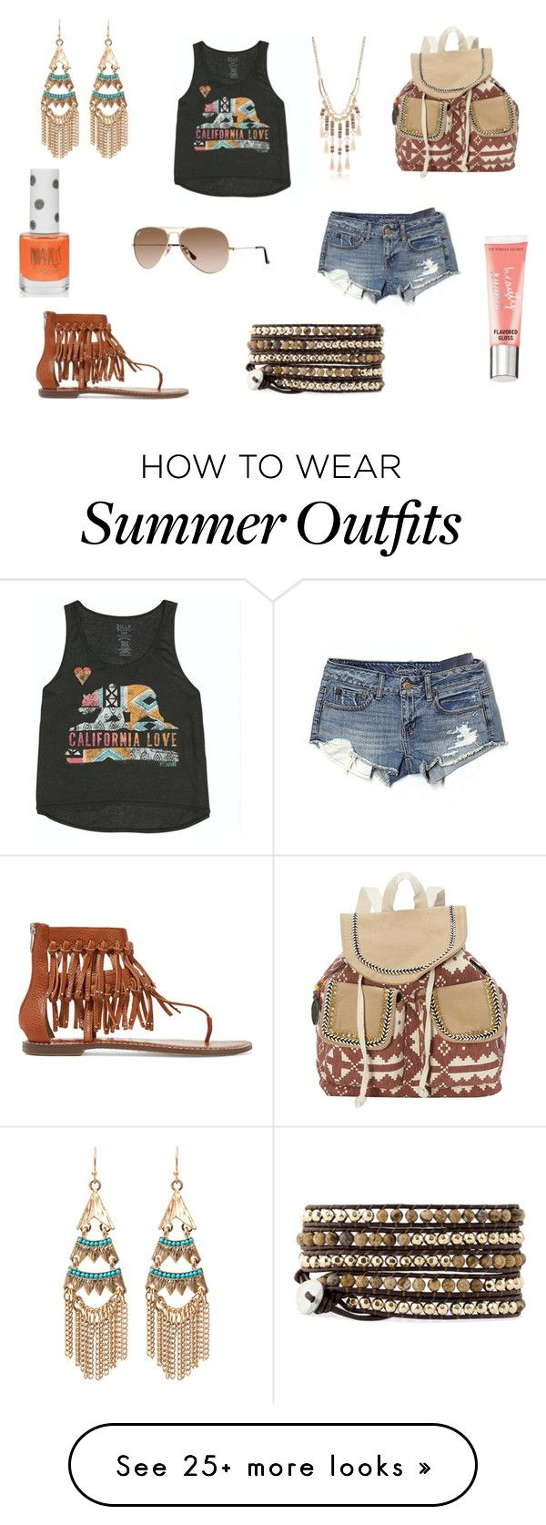 """Going to the Festival"" by holly32196 on Polyvore featuring Billabong,..."