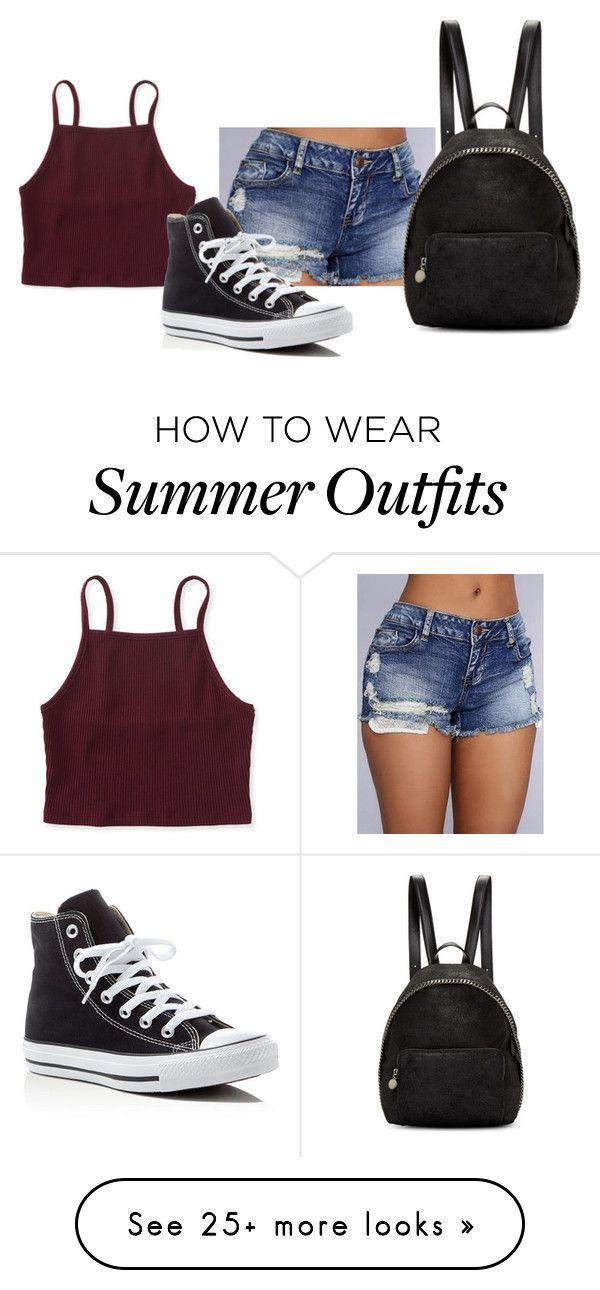 """""""Hot summer day outfit"""" by samantha-b872 on Polyvore featuring Aéro..."""