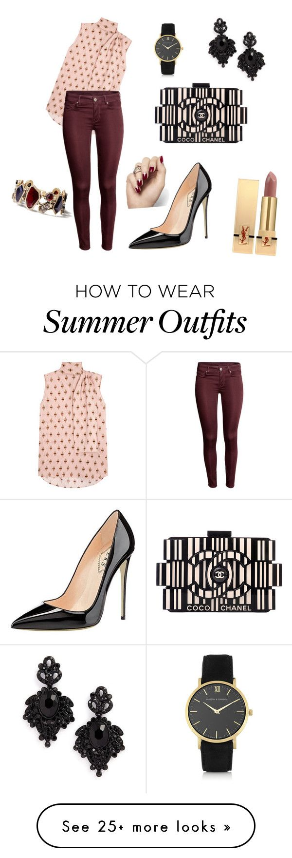 """""""My First Polyvore Outfit"""" by natasha-olshevsk on Polyvore featuring C..."""