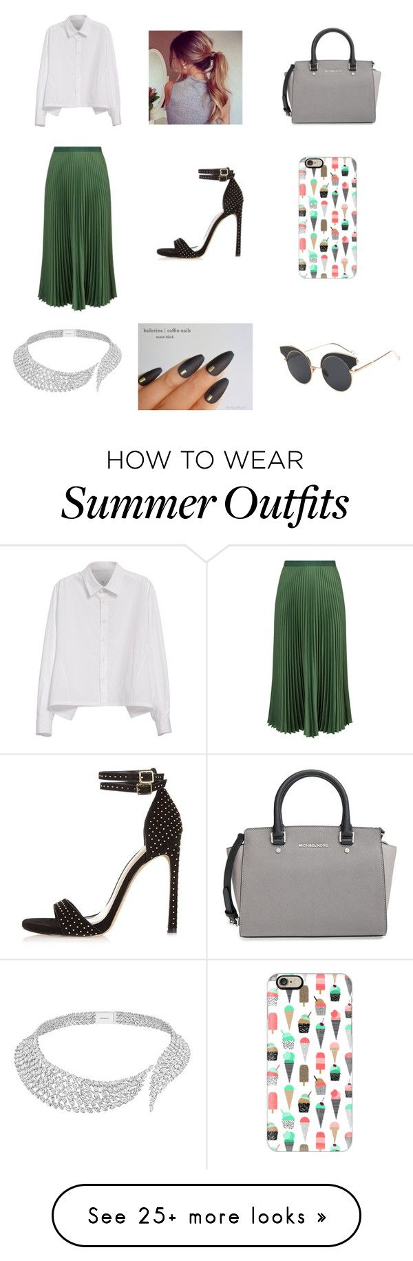 """""""Office like outfit"""" by daisygirl-362 on Polyvore featuring Y's by..."""
