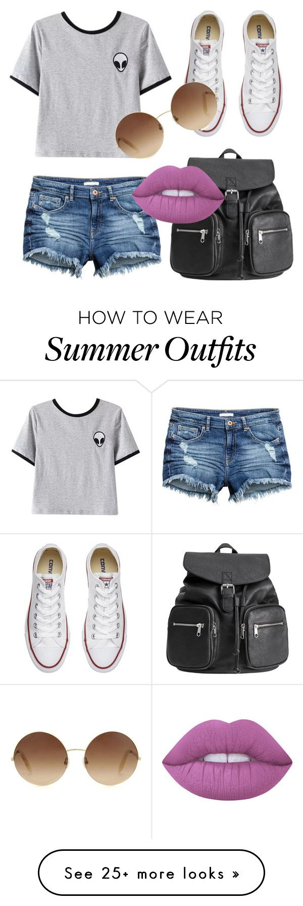 """""""One of my LAST summer outfits"""" by charlotte-elizabeth-02 on Polyvore ..."""