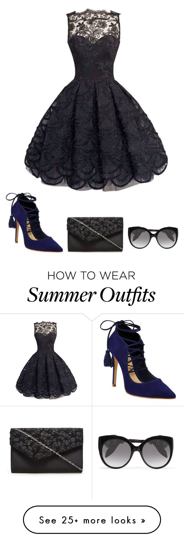 """""""Outfit"""" by kgtbug14 on Polyvore featuring Schutz and Alexander McQuee..."""