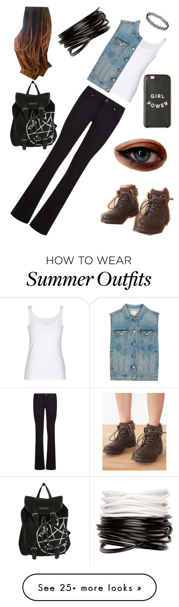 """""""Punker Outfit"""" by cooljen13 on Polyvore featuring rag & bone, Pai..."""