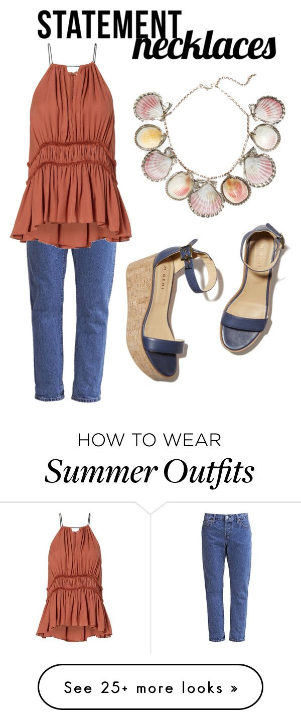 """Simple cute summer outfit"" by ttabd on Polyvore featuring Paolo Costa..."