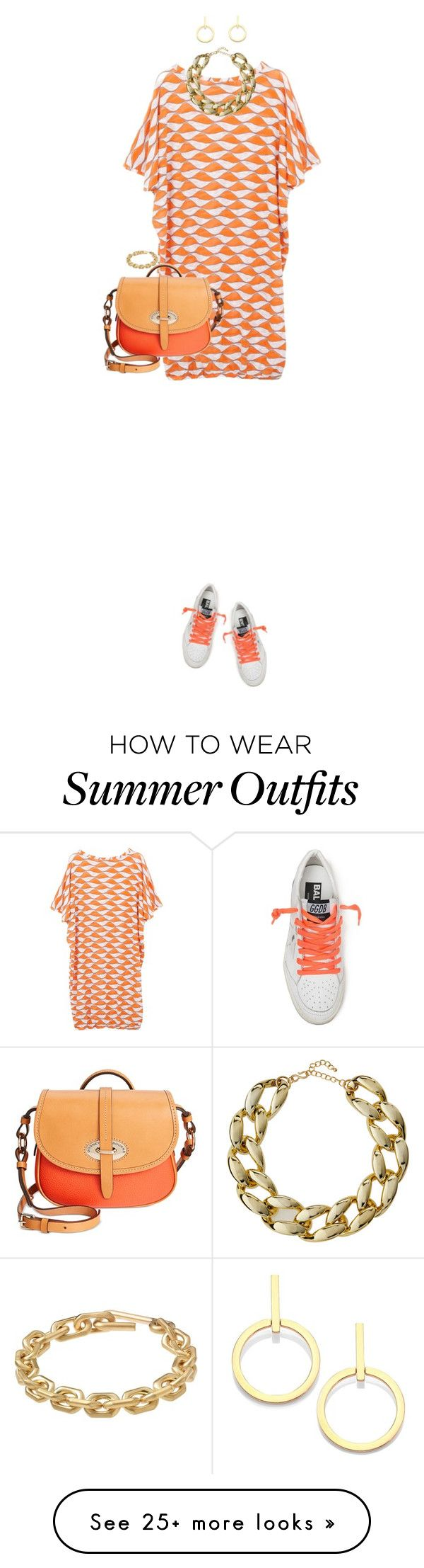"""""""Sneakers For Summer"""" by ittie-kittie on Polyvore featuring Golden Goo..."""