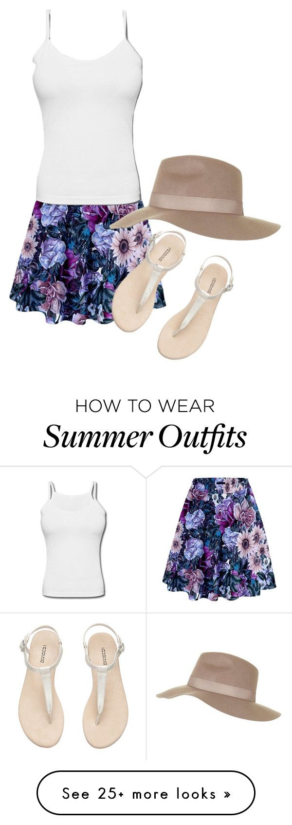 """Summer Beach Outfit"" by soulmunster on Polyvore featuring Topshop..."
