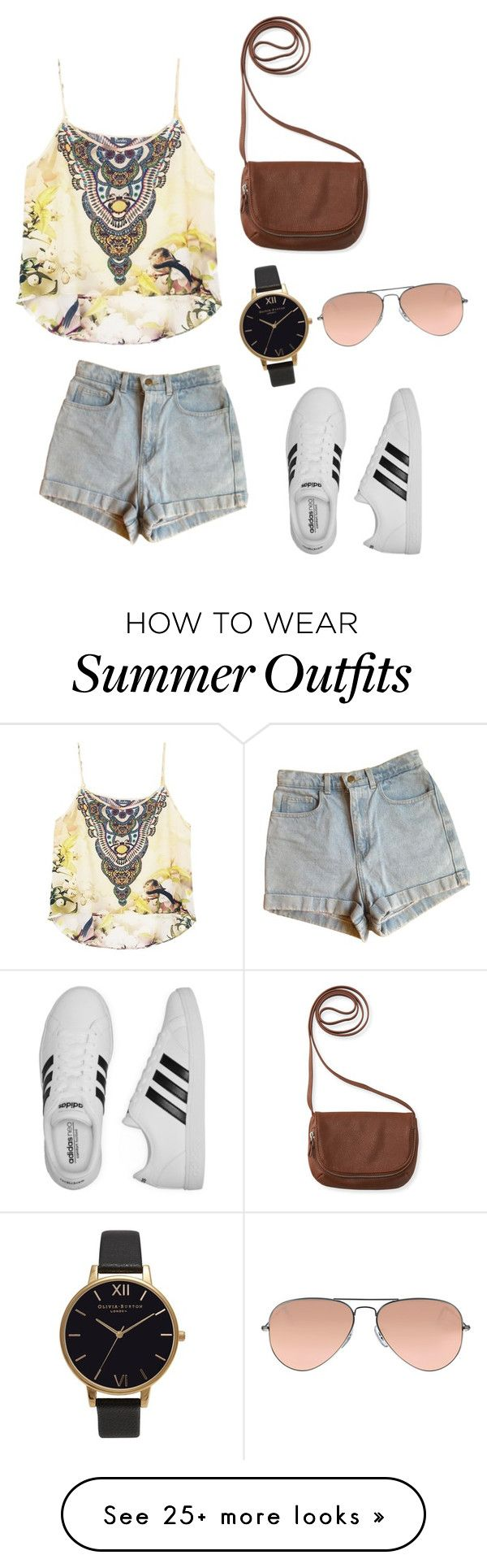 """""""Summer Casual outfit"""" by ashleylx on Polyvore featuring American Appa..."""