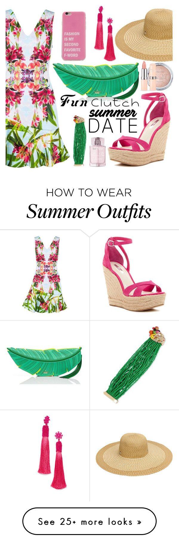 """""""summer date outfit"""" by tyttaya on Polyvore featuring Karen Millen, Ka..."""