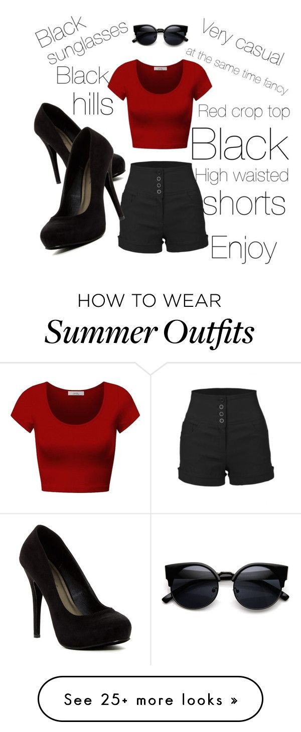 """Summer isn't over outfit"" by dashasitkevich on Polyvore featuring..."