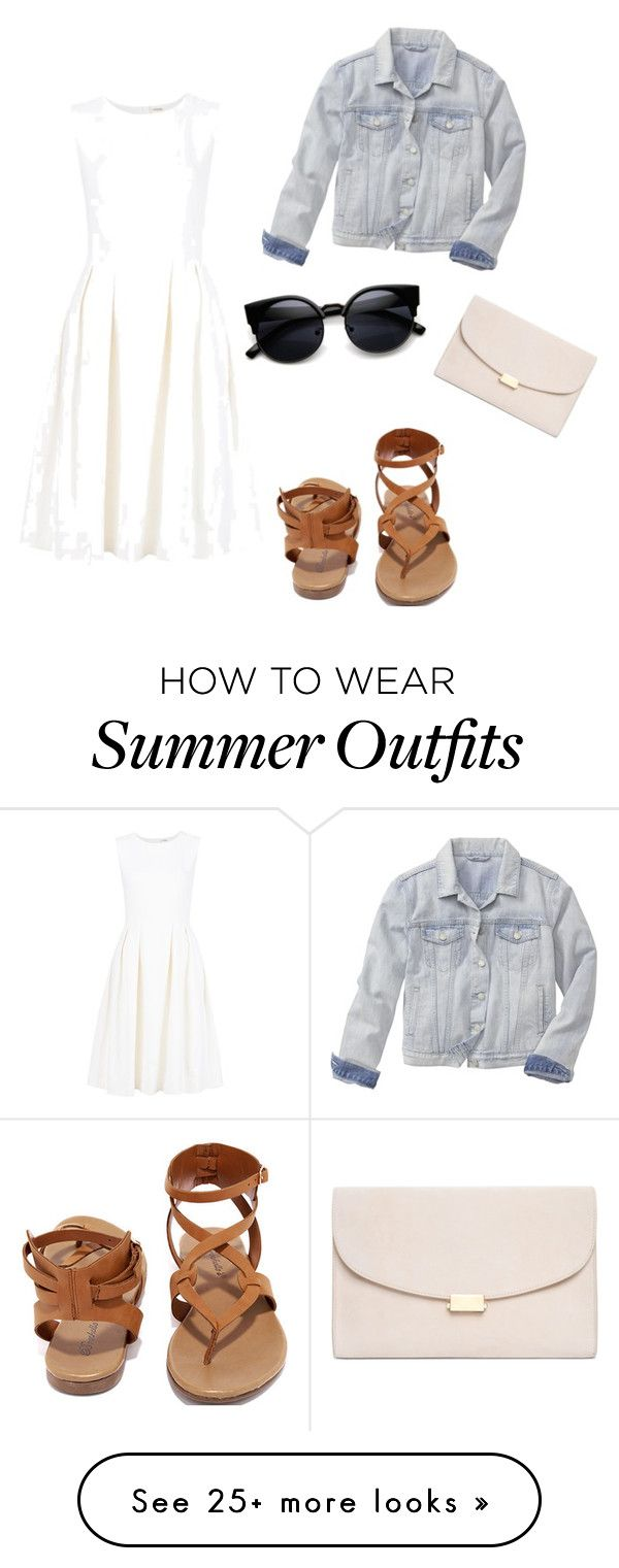 """Summer outfit"" by avah26 on Polyvore featuring ADAM, Gap, Breckelle&#..."