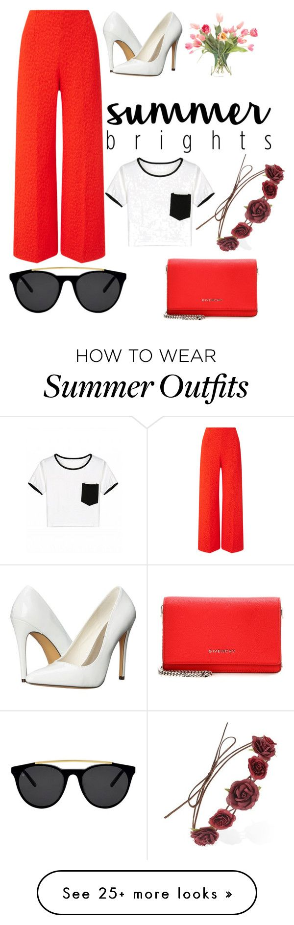 """""""summer outfit"""" by canditaannapaola on Polyvore featuring Roland Moure..."""