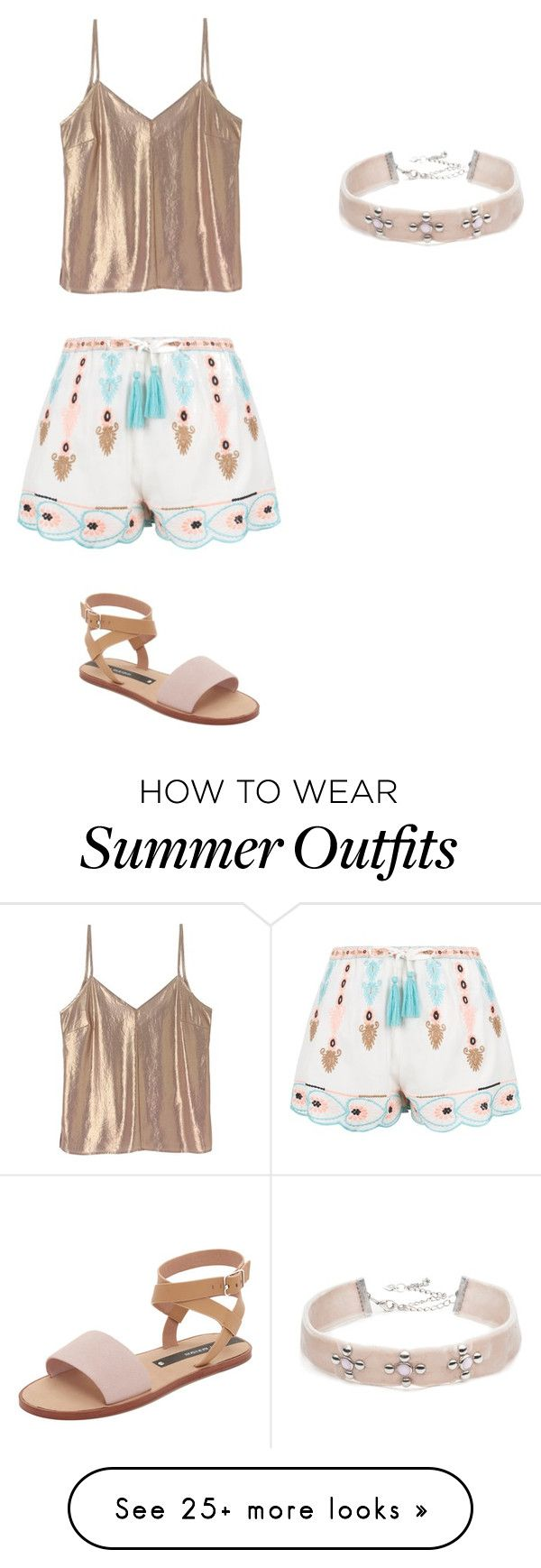 """""""Summer outfit"""" by lauren-rivera620 on Polyvore featuring New Look, Ma..."""
