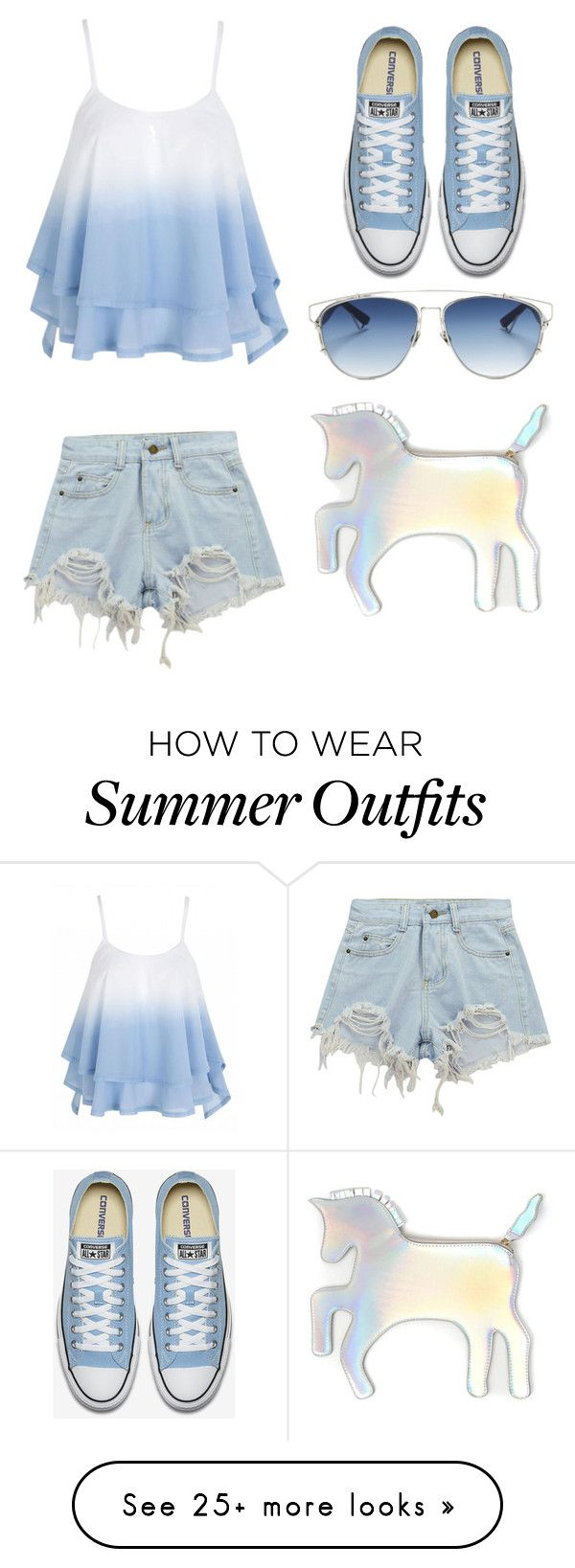 """""""Summer outfits"""" by valya-raissa on Polyvore featuring Chicnova Fashio..."""