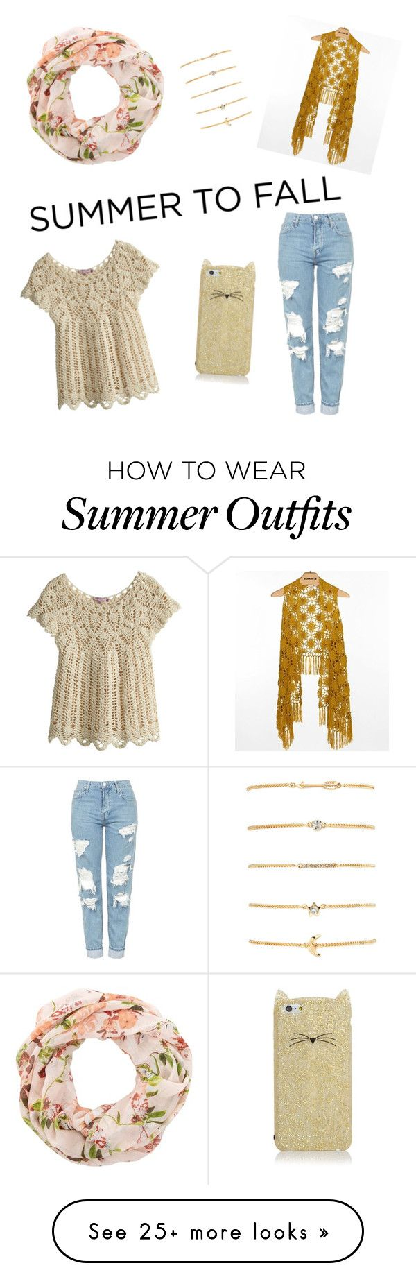 """""""Summer to fall outfit"""" by covettfashion on Polyvore featuring New Loo..."""