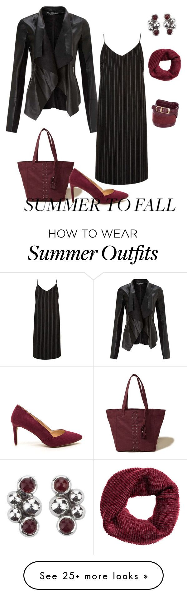 """""""Summer to Fall (outfit only)"""" by vlmhark on Polyvore featuring Hollis..."""