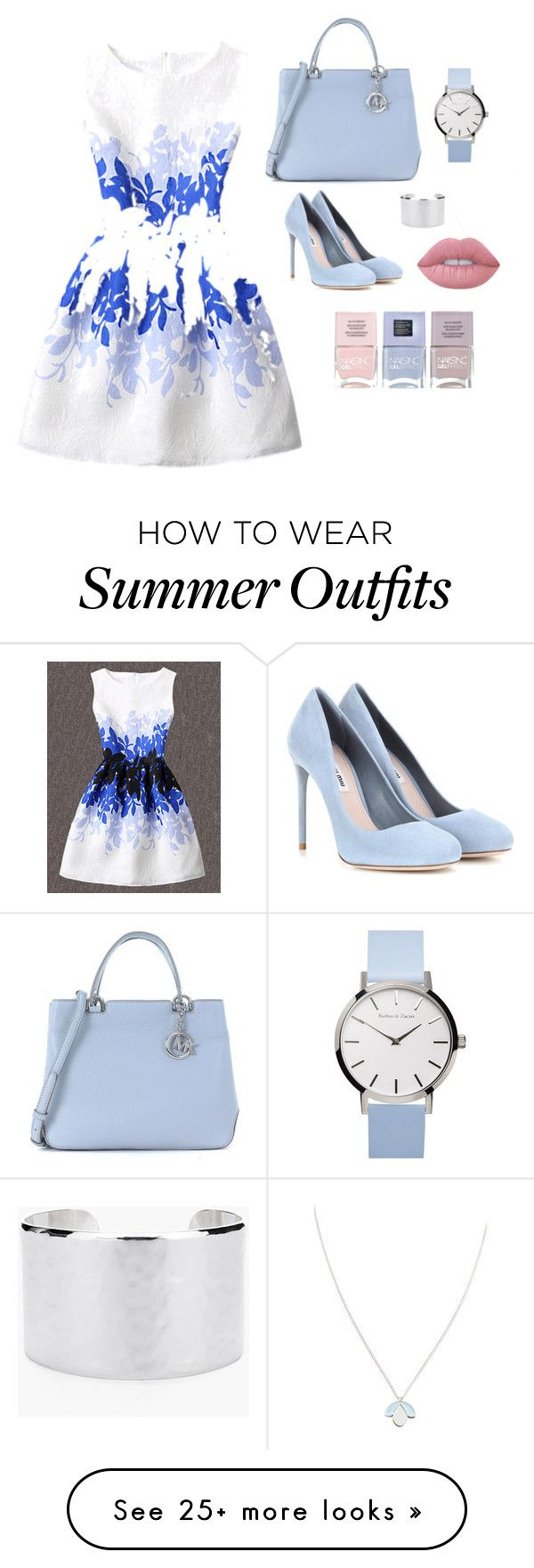 """""""Summer work outfit"""" by sgabriele on Polyvore featuring WithChic, Mich..."""