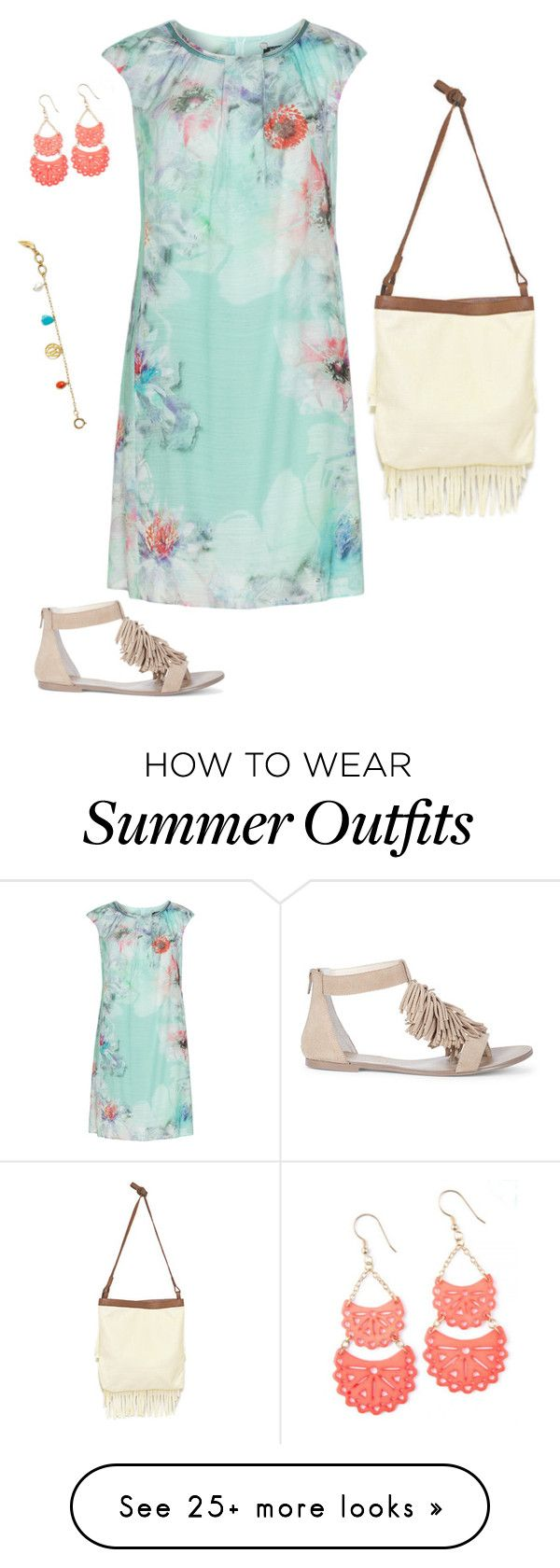 """""""Sweet Summer"""" by classychic92 on Polyvore featuring KS Selection, Sol..."""