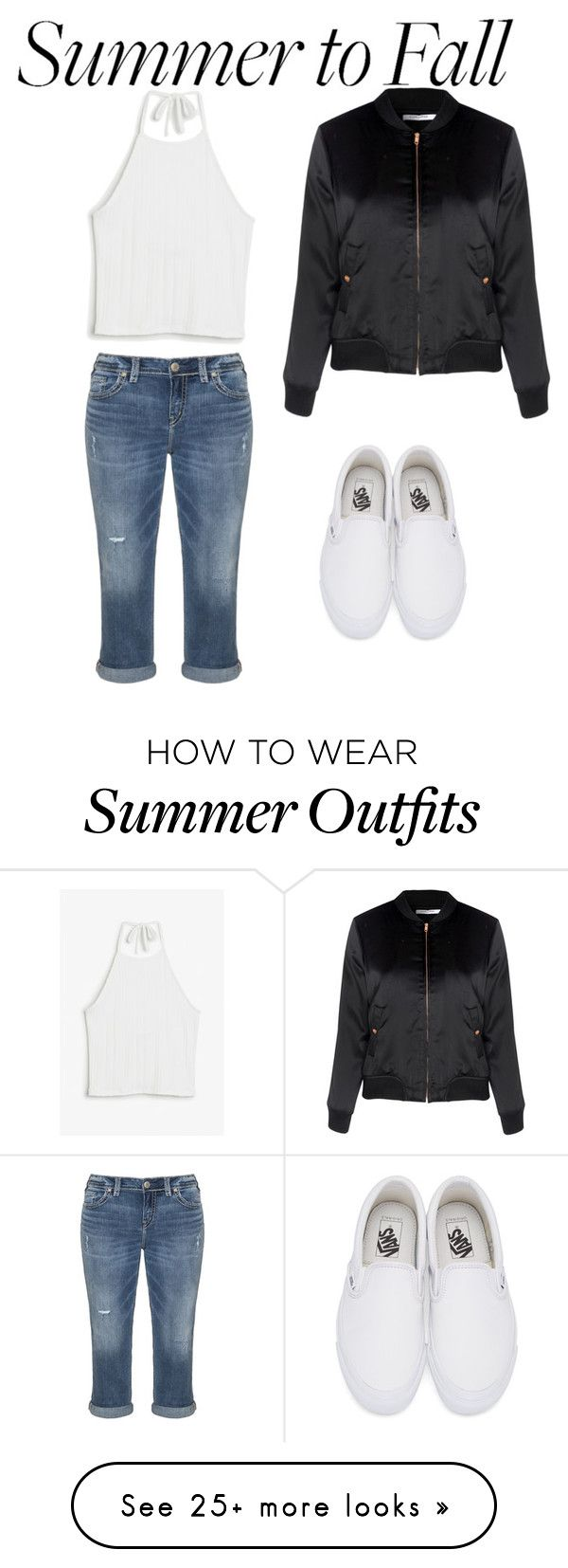 """Transition outfit"" by sydneyalexandra-1 on Polyvore featuring Silver ..."