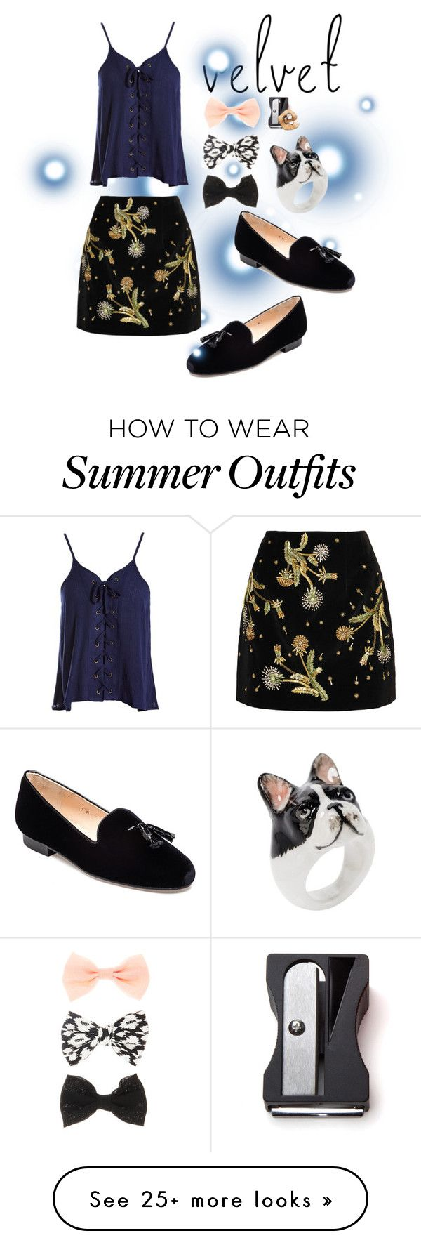 """Velvet- Back to School Outfit"" by birdy3000 on Polyvore featuring Jon..."