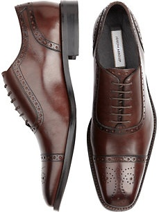 Chocolate brown shoes