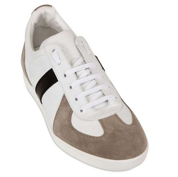 Dior Homme Suede and Calfskin Sneaker, $540...