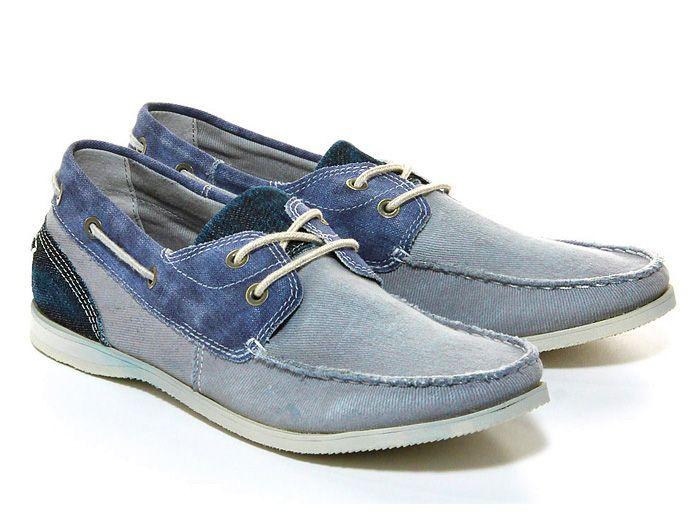 Esprit Denim Boat Shoes and Sneakers - Footwear 2013 Spring Summer Mens - Deck T...