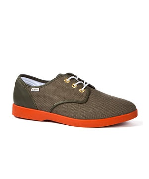 Green (Green) Keds Booster Hopsack Shoe | 243246630 | New Look...