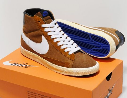 Men's Nike Blazer Hi Vintage Canvas