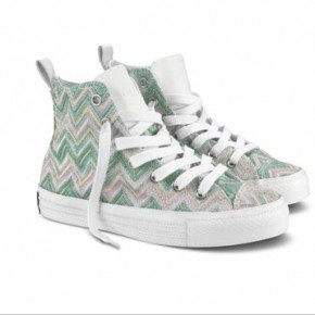 Missoni x Converse - S/S12 - get on it. Home wares on feet. :)