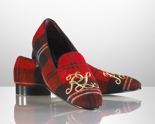 Ralph Lauren Slippers (The ultimate holiday fantasy shoe)...