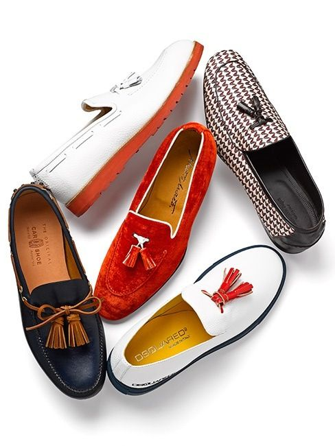 Tassel Loafers to fit your fancy.  File under: Tassel Loafers, Shoes
