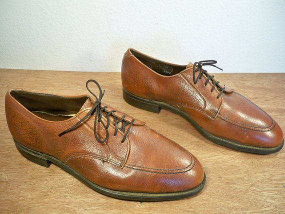 Vintage Hytest Union Made in USA Brown Leather Oxford by Joeymest, $129.00
