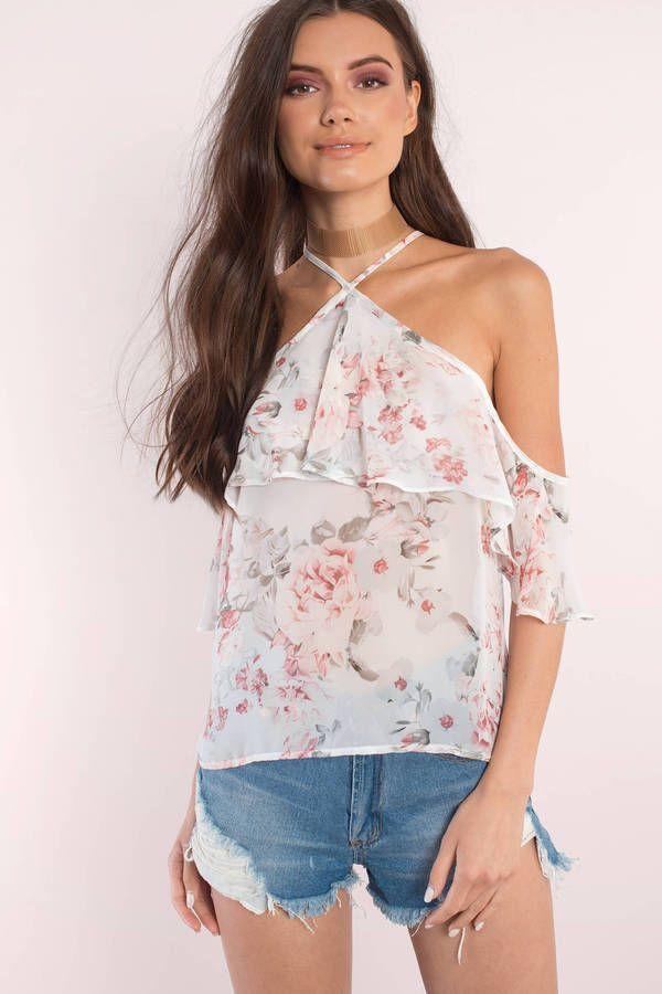 Alyssa Floral Print Top