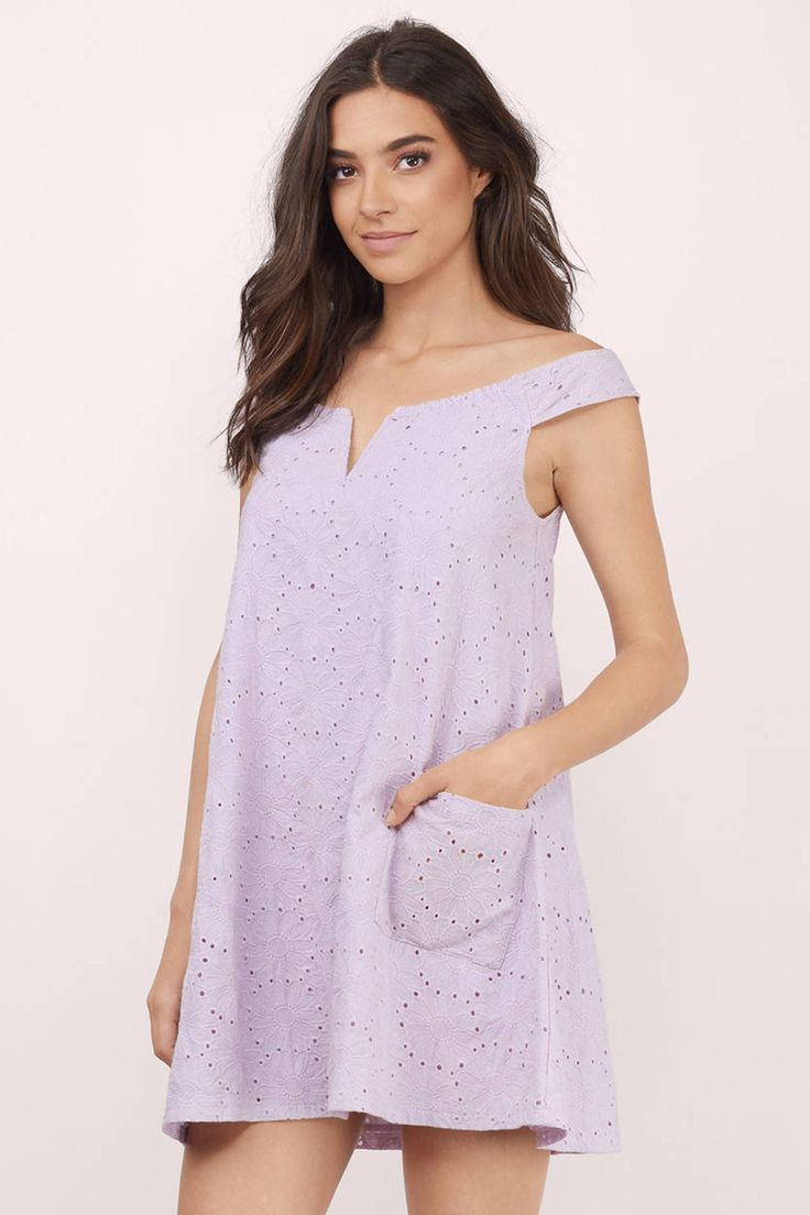 Meadows Off The Shoulder Dress