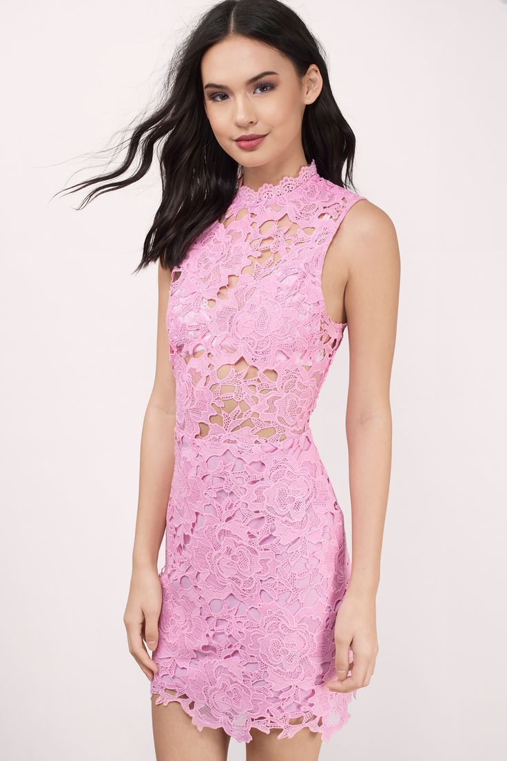 Sweet Fantasy Lace Bodycon Dress