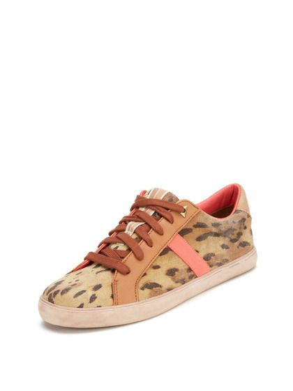 Hanson Animal Print Low Top Sneaker | Sam Edelman