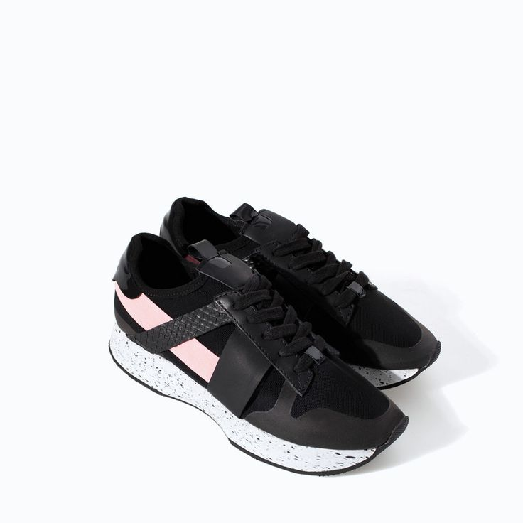 Image 2 of SNEAKERS WITH DETAILING from Zara...