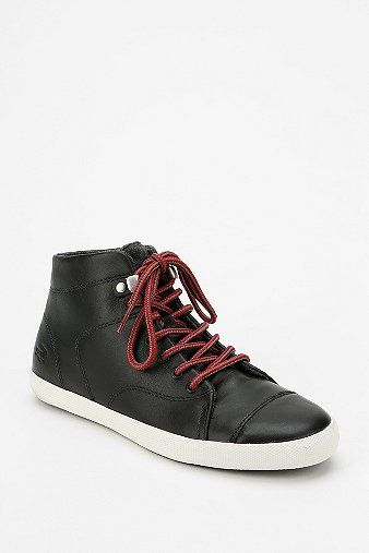 Lacoste Lavern Leather High-Top Sneaker