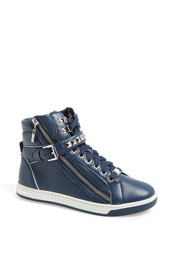 MICHAEL Michael Kors 'Glam' Studded High Top Sneaker