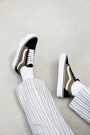Old Skool Platform Sneaker by Vans at Free People...