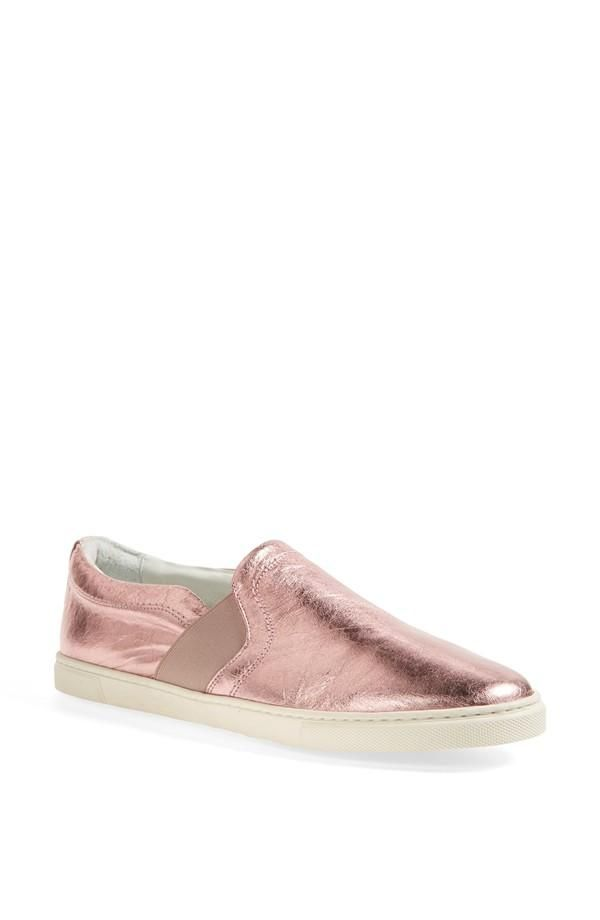 Perfect with black jeans - pink metallic sneaker